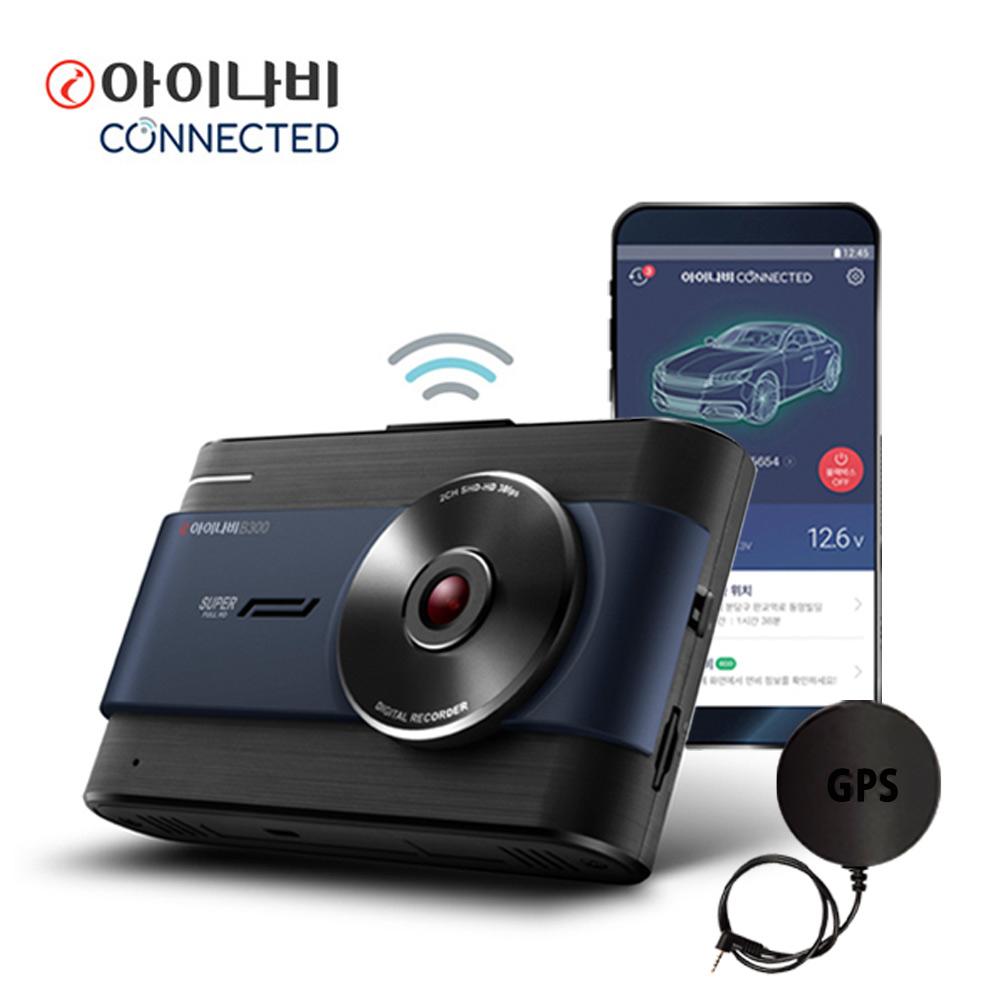 (출장장착+GPS)B300 32GB 슈퍼풀HD 2채널 블랙박스 2K 아이나비, (무료출장장착+GPS)B300 32GB 2채널