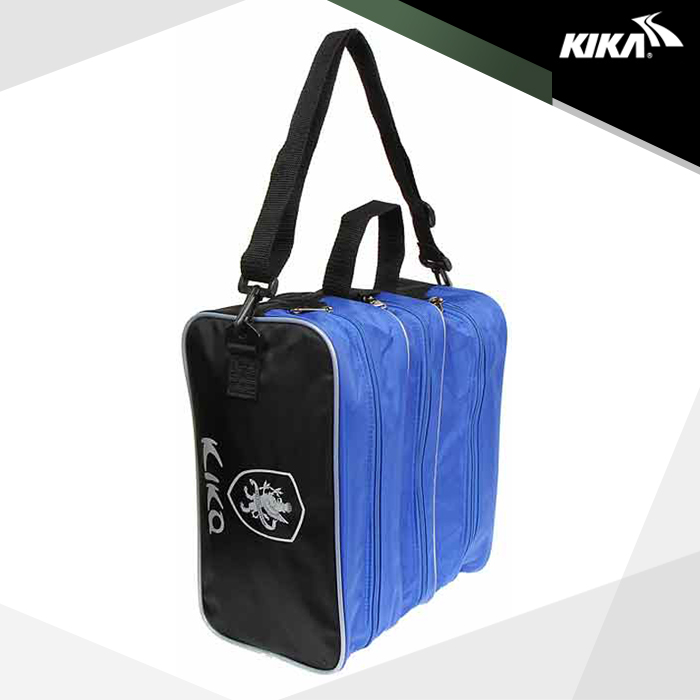 키카 트리플 슈즈백(블루) 3개 별도 수납 축구화쌕-16-21413376