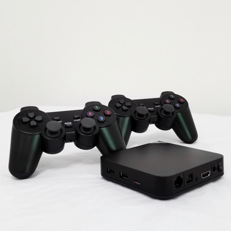 3700합1 판도라박스 월광보합 3D 가정용 게임기 3D게임 100+2D게임 3600가지 4인 플레이 가능 무선 컨트롤러, 블랙