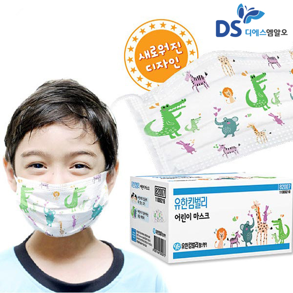 유한킴벌리 일회용 어린이 마스크 36개 82007, 유한킴벌리 어린이마스크