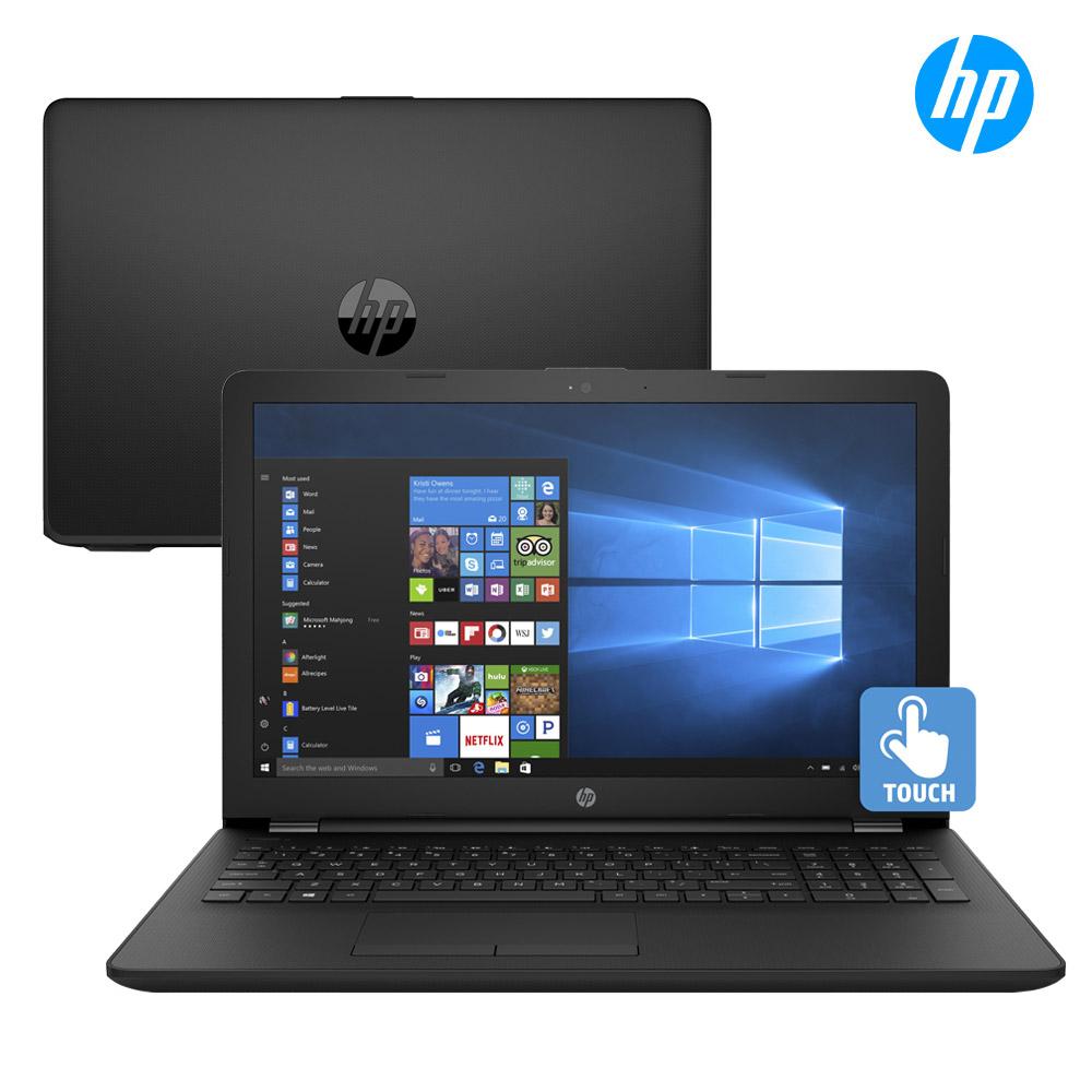 [리퍼] HP 15 쿼드코어 학생용 업무용 15인치 터치스크린 노트북 Win10, N5000/4G/1TB/15/W10/터치§, HP 15 BS289WM 블랙