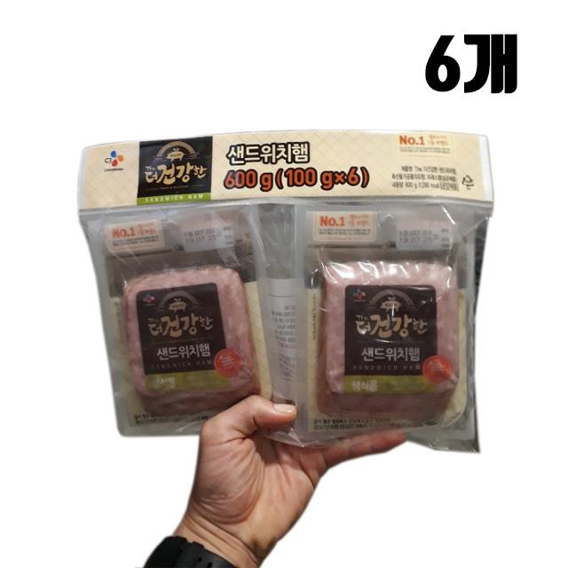[코스트코]더 건강한 샌드위치 햄 100g -6개입, 6개