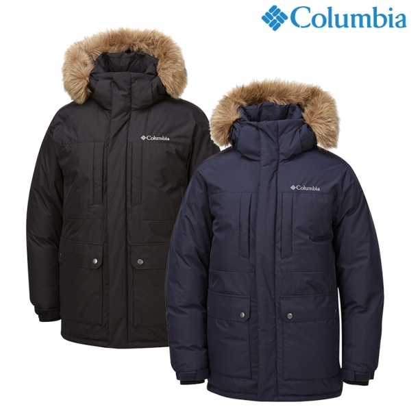 컬럼비아 컬럼비아CY4YMM384 남성용 턴불 하보 다운자켓
