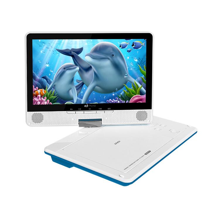 인비오 PD-3200HD 휴대용DVD플레이어/HDMI케이블 기본구성품포함, PD-3200HD 블루 (POP 4322669245)