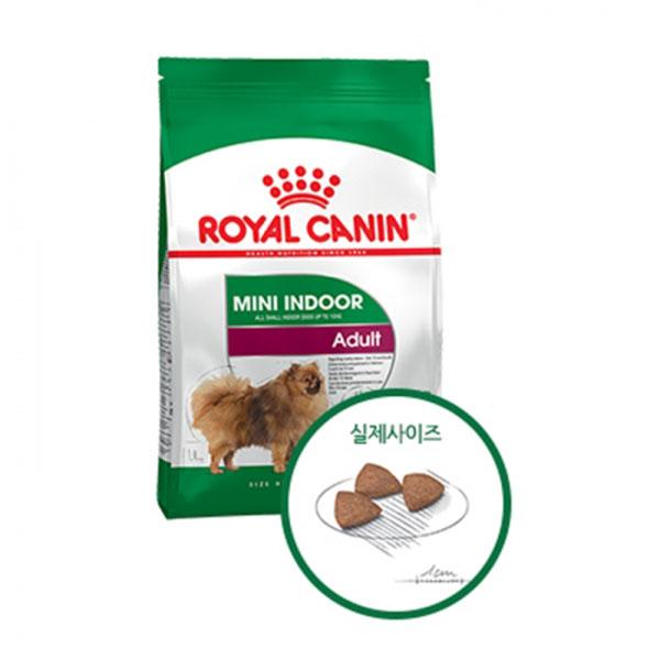 로얄캐닌 독 미니 인도어 어덜트 (실내견용) 3kg
