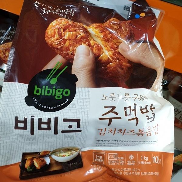 비비고 주먹밥 100g x 10개입 김치치즈 볶음밥, 아이스박스포장, 단일상품