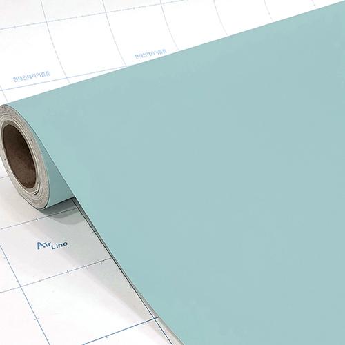 현대시트 문 싱크대 가구 리폼 시트지 단색 인테리어필름 53종 2.5m, 15) 민트 ECSL588 2.5m