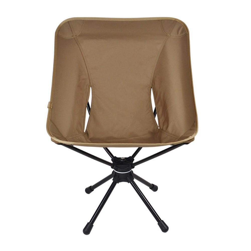 스위블체어 헬리녹스 보다 저렴한 경량 캠핑 의자 로우 체어, 카키색 옷감