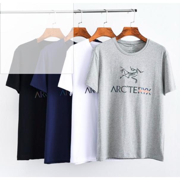 vejama Arcteryx 아크테릭스 등산 티셔츠 운동 라운드 넥 릴렉스 핏 넉넉한 핏 빅 사이즈 ve08