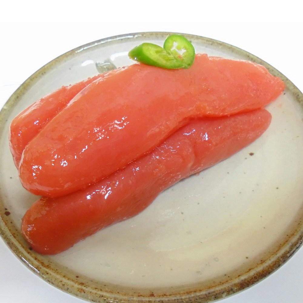 바른젓갈 백명란젓 500g 1kg 저염젓갈로 짜지않고 맛이 담백, 1통