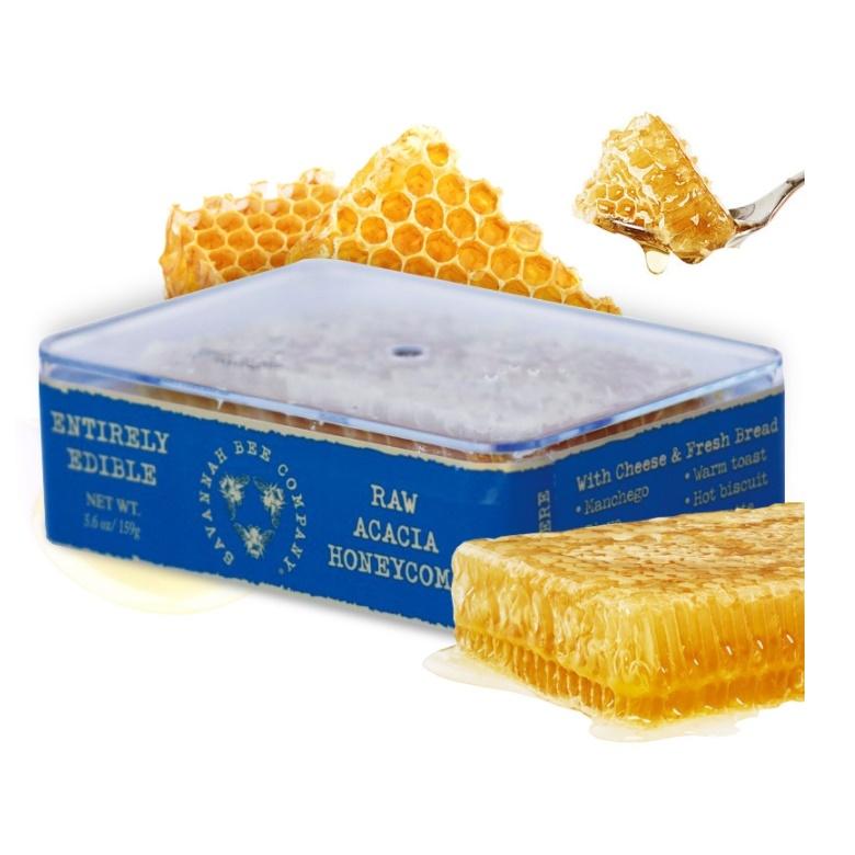 Savannah Bee 사바나 비 로우 아카시아 허니콤 생벌집꿀 158g