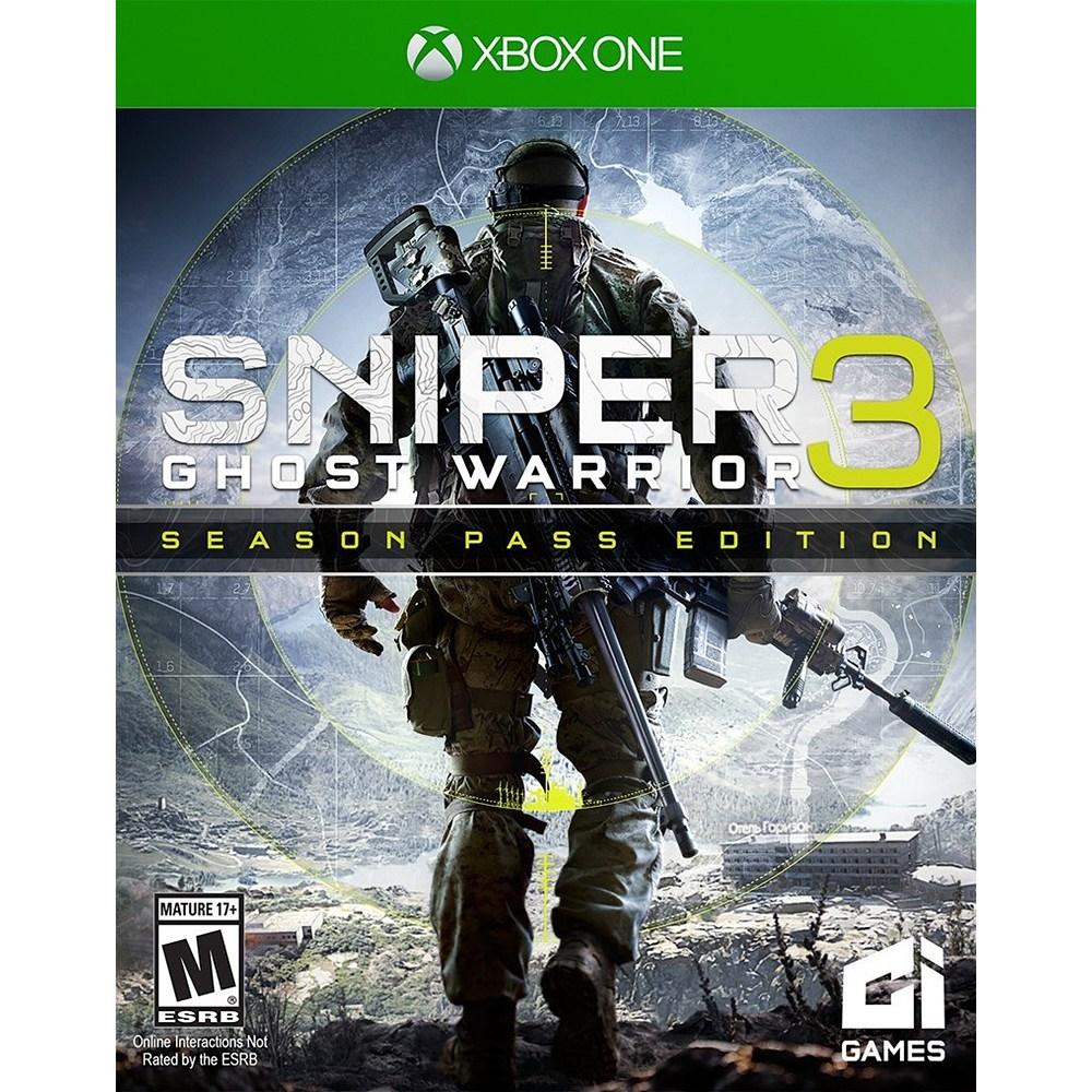 스나이퍼 고스트 워리어3 시즌패스 에디션 Sniper Ghost Warrior 3 - Xbox One, 단일상품