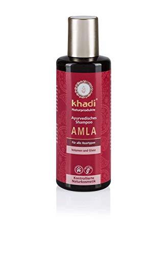 ETEREAUTY 탈모두피에센스 조세호 미용실 헤어토닉 세럼 남자머리 Khadi Ayurvedic Shampoo Amla I 내추럴 헤어 샴푸 볼륨 및 광택 천연 화장품 100 % 야채-41332, 1.21ml, 단일옵션