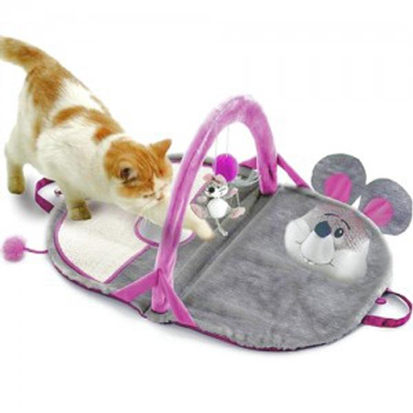 ksw18611 티미 더 마우스 고양이 놀이터 ml375 매트, 1