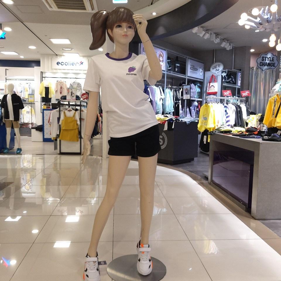 더데이걸 상큼한 포도 송이가 포인트인 기본 티셔츠!!!