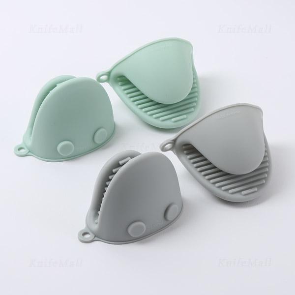 PAMIRE 실리콘 장갑 2P (냄비집게) 파미레 냄비장갑, 크림그린