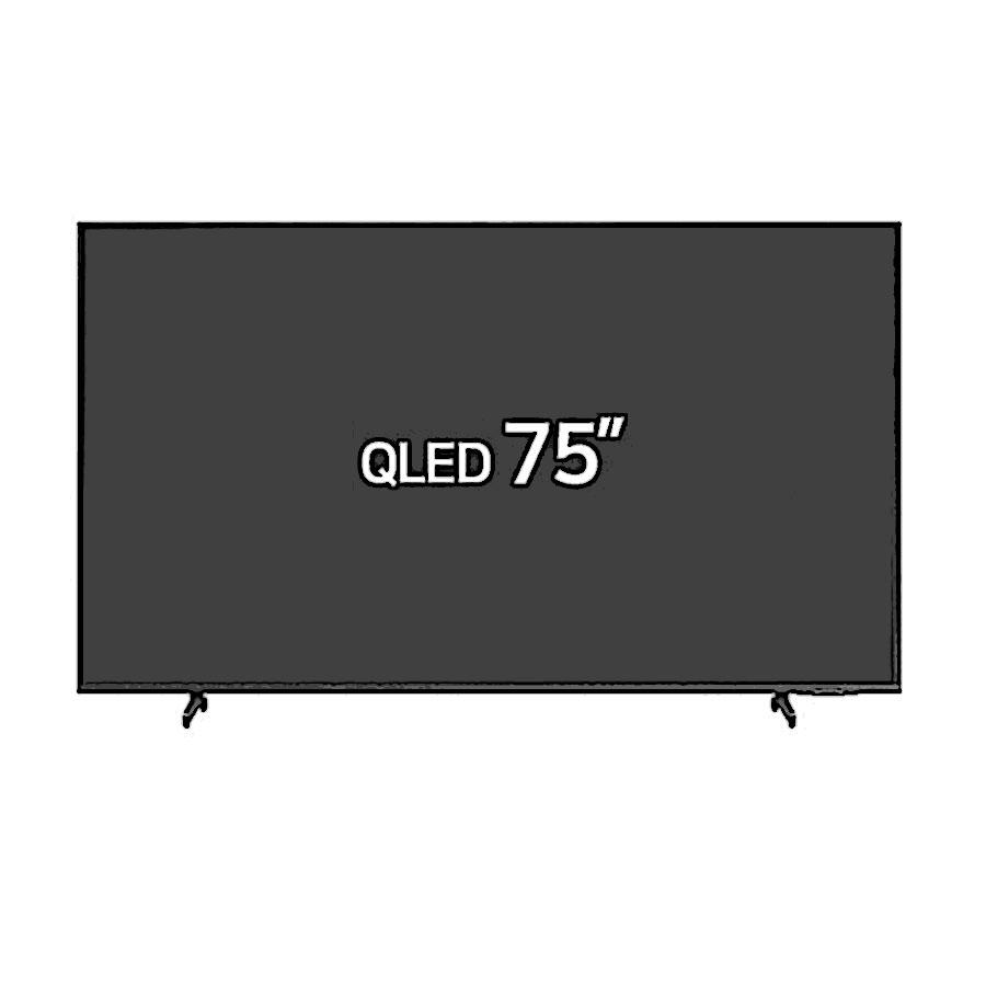 삼성전자 QLED 4K KQ75QA60AFXKR 고정스탠드형/가나다샵, 고정스탠드형 (POP 5268915174)