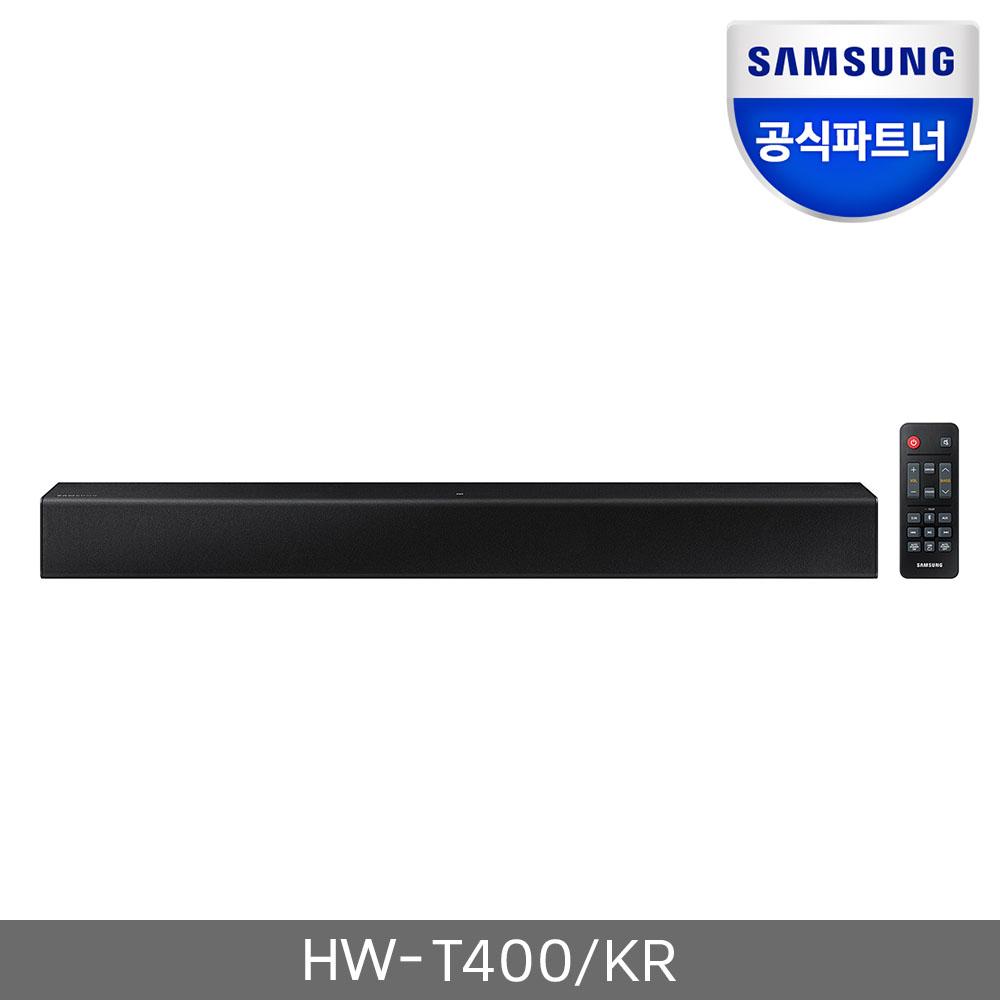 삼성전자 공식인증점 사운드바 HW-T400 2.0채널 블루투스, HW-T400/KR
