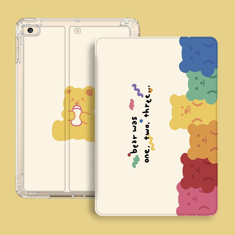 아이패드 에어 4 케이스 곰돌이 캐릭터 감성 10.9인치, 에어백_iPad Air4 (10.9 인치)