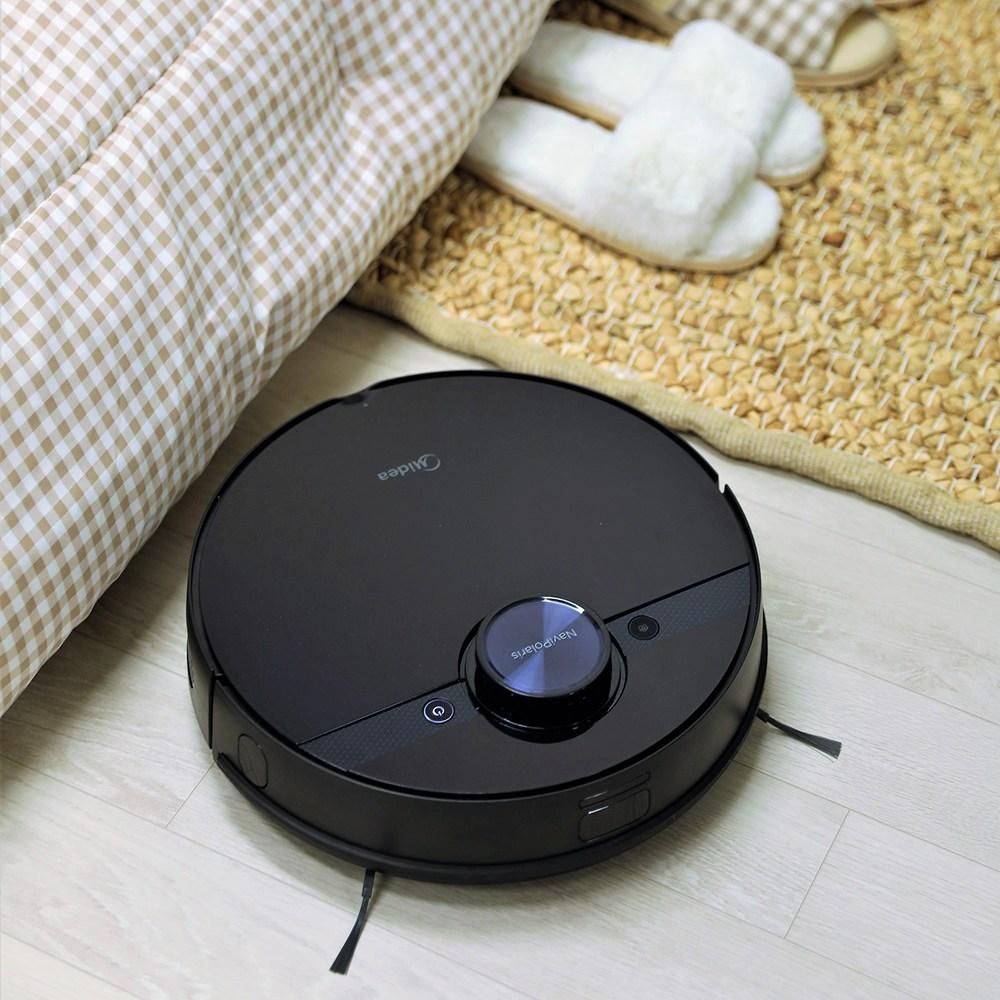 미디어 삼성정품 배터리장착 물걸레 로봇청소기 M7