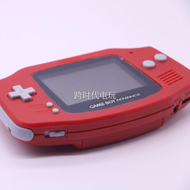 GBA 게임보이 어드밴스 백라이트 하우징 개조버전, 레드 + 표준 + 일본어판