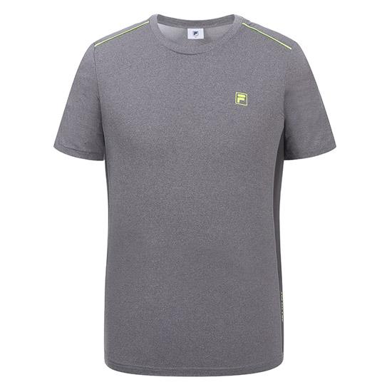 휠라 남성 반팔 라운드 티셔츠 U2MTZ255M_GRY 스포츠
