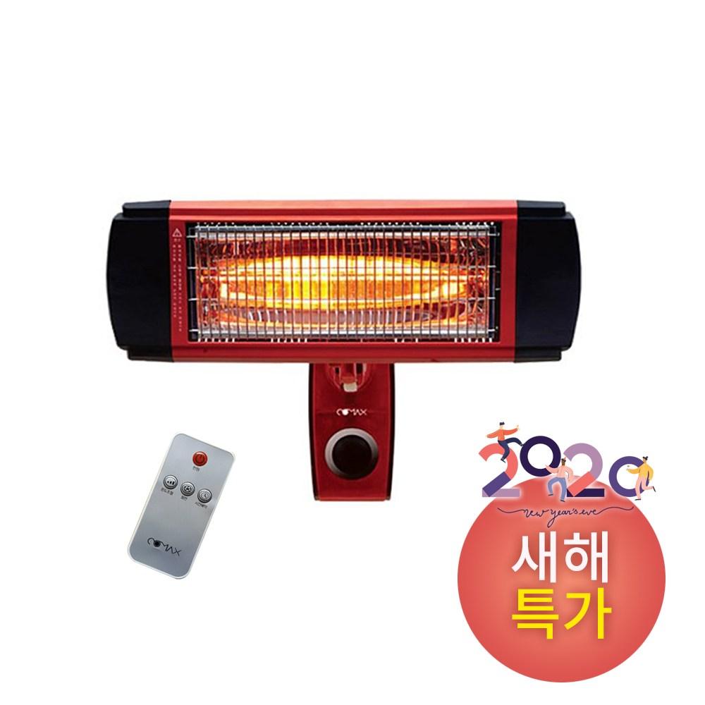 코멕스 리모컨형 벽걸이 근적외선히터 cm-3800w, 단일