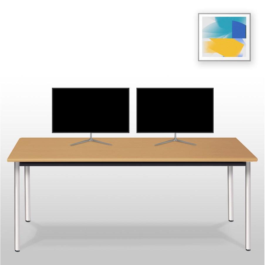 아이윈 게이밍 컴퓨터 1인용 2인용 책상, 메이플비치