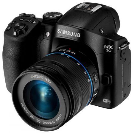 SASEVNX30ZZBGB - Samsung Smart NX30 20.3 Megapixel Mirrorless Camera (Body with Lens Kit) - 18 mm -, 상세 설명 참조0