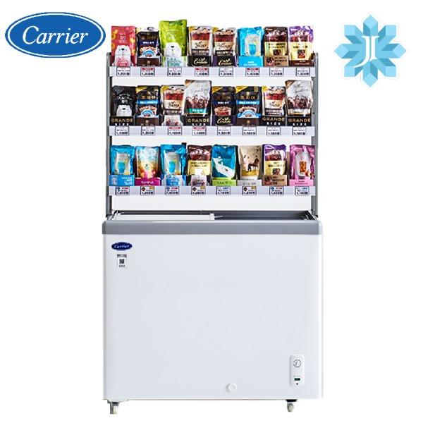 [예약판매] 캐리어 CSDH-D200WA+진열선반 세트 편의점 냉동고 (POP 5410224948)