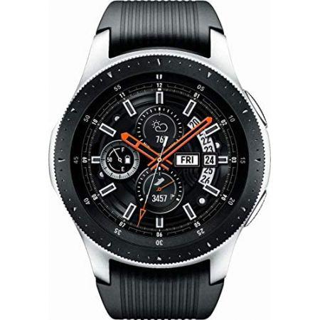 [아마존베스트]Samsung SM-R805UZSAXAR Galaxy Watch Smartwatch 46mm Stainless Steel LTE GSM (Unlocked, One Color, 상세 설명 참조0