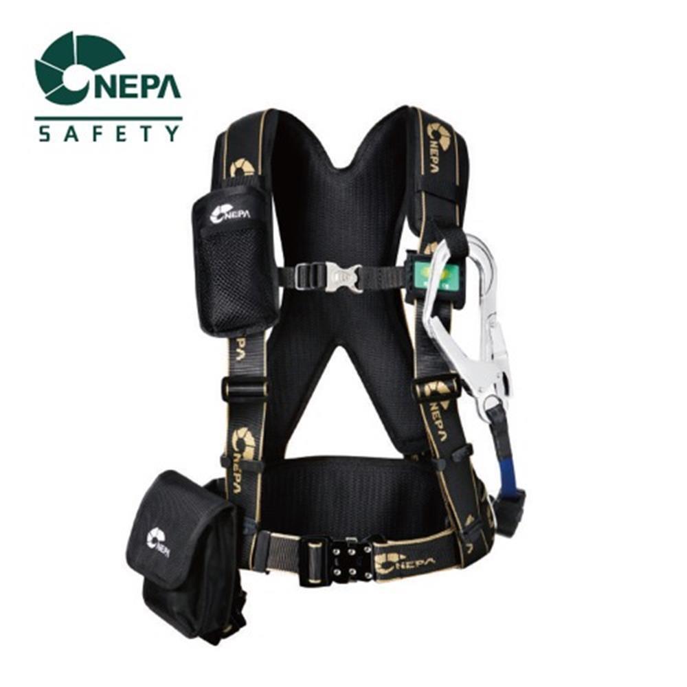 NEPA 산업용 상체식 안전벨트 공사장 고공작업 낙하방지 (POP 5500160192)