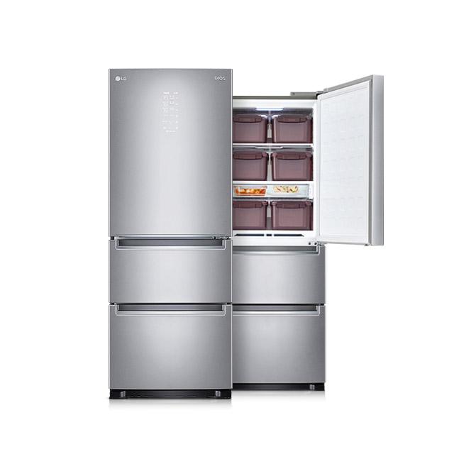 LG전자 디오스 김치톡톡 3도어 김치냉장고 327L