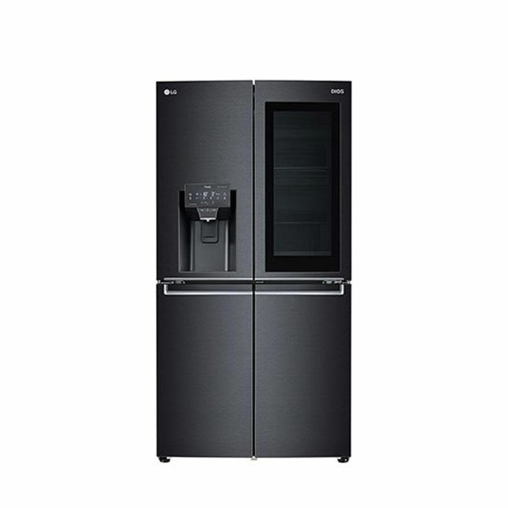 [신세계TV쇼핑][LG] 노크온 얼음정수기 냉장고 J823MT75 824L, 단일상품