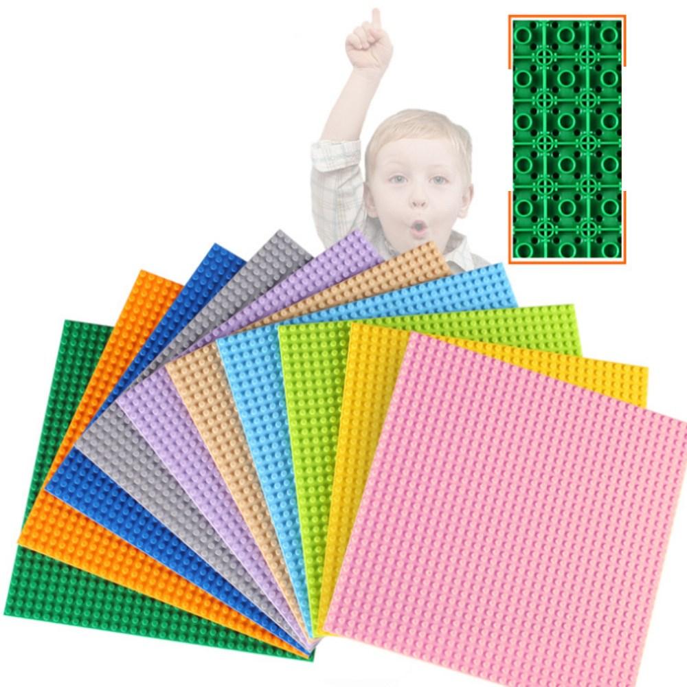 토이다락방 레고판 레고 클래식 전용 블럭 놀이판, 레고 호환 32x32칸 - 핑크