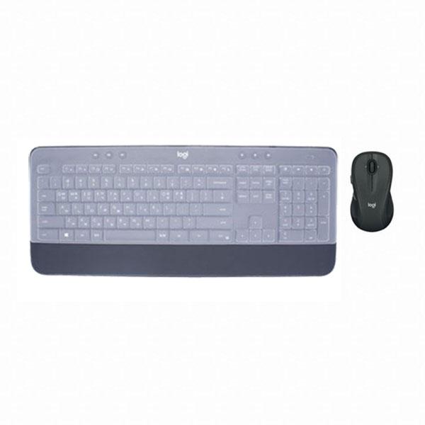 로지텍코리아 MK545 무선 키보드 마우스 세트 블랙 (키스킨포함), 선택하세요