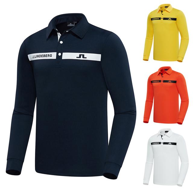 제이린드버그 골프 긴팔 기본 셔츠 일상 PK셔츠 필드웨어 라운드핏 골프웨어