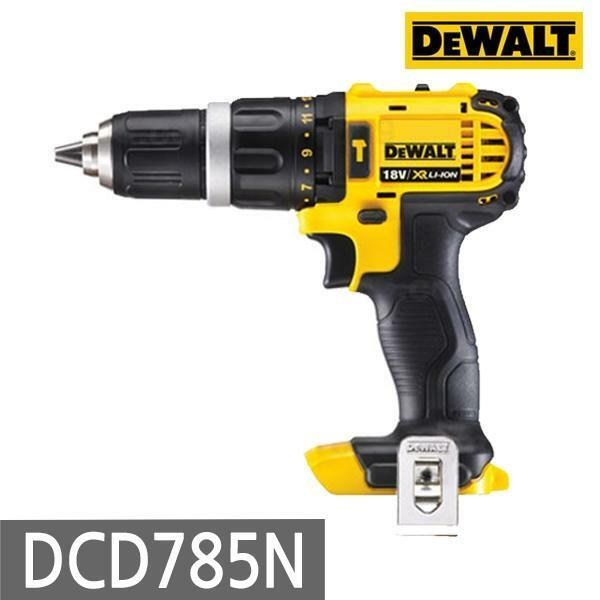 디월트 DCD785N 충전해머드릴 18V 베어툴 본체만 (POP 110533671)