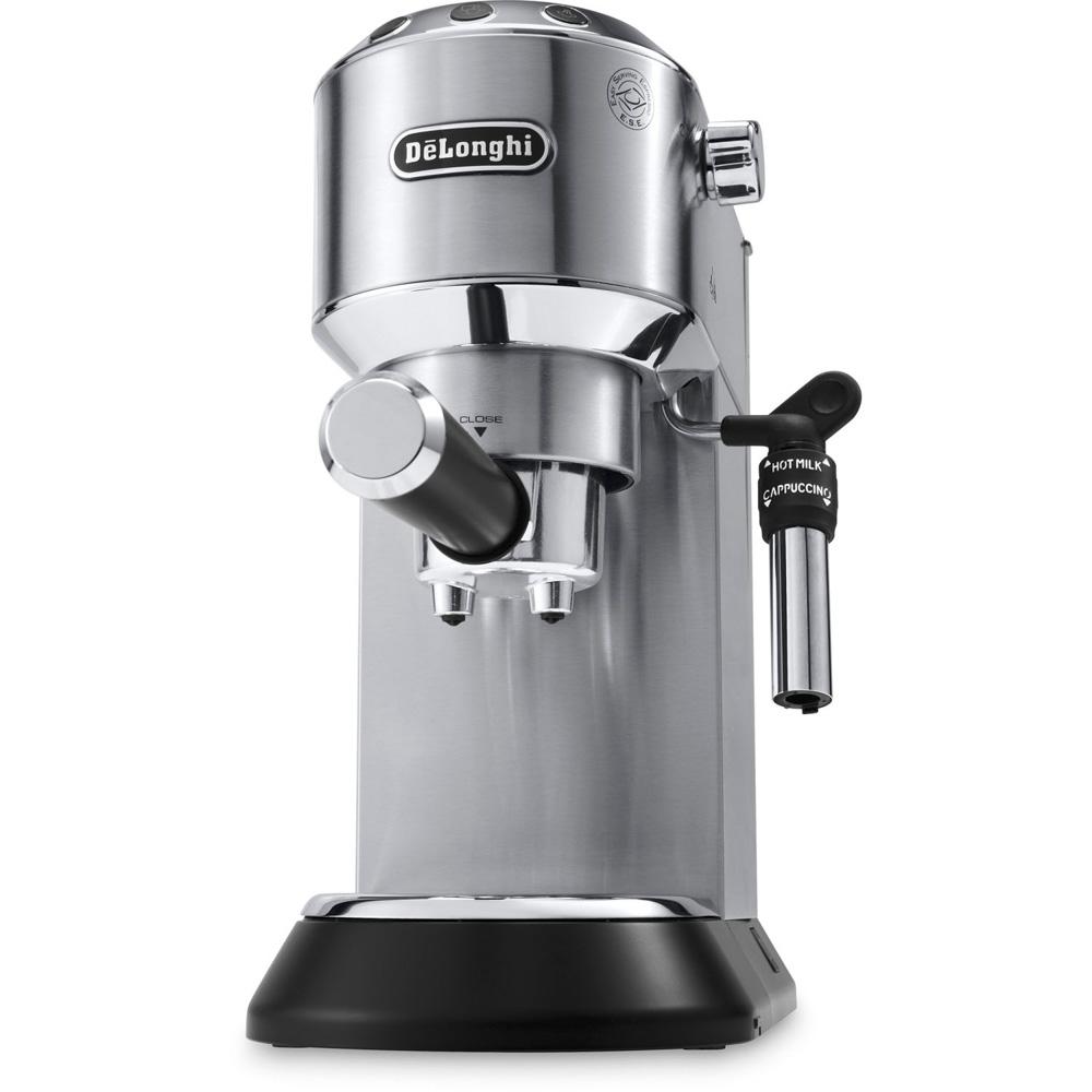 드롱기 데디카 디럭스 15-바 펌프 에스프레소 커피메이커 실버, EC685M