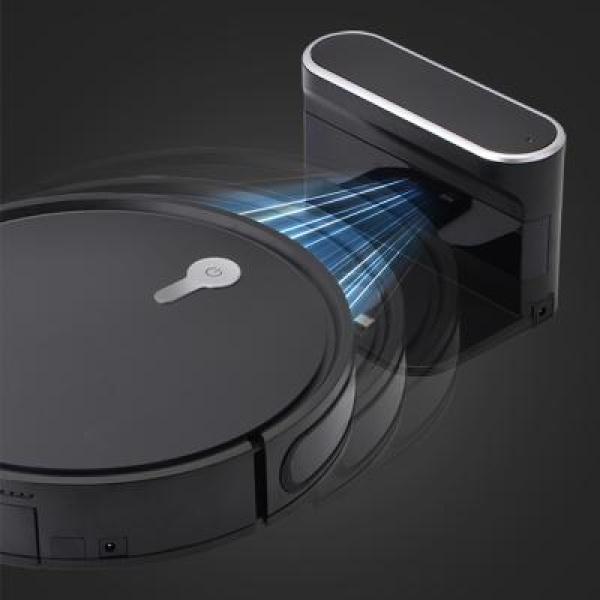 니봇 프리미엄 강력 시그니처 리모컨 물걸레 로봇 청소기 흡입 물걸레, 블랙