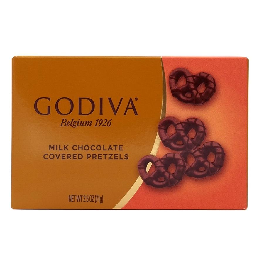 Godiva 고디바 밀크초콜릿 커버 프레즐 71gX2개