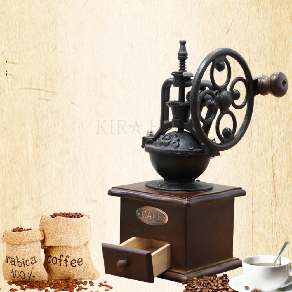 kirahosi 가정용 커피 머신 수동 커피 기계 세트 최신형 반자동 전자동 44호 Frxcxl, 블랙 1139