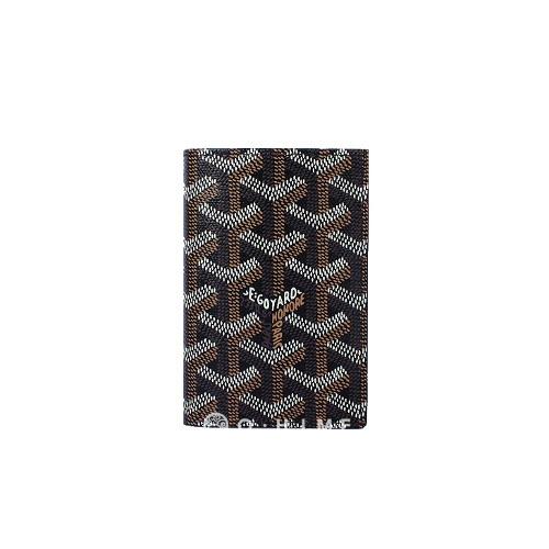 고야드 [고야드] 카드&지폐 지갑 기본-블랙