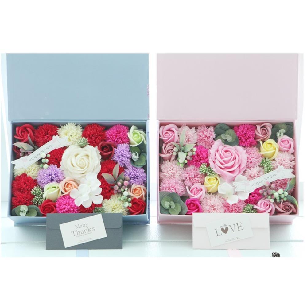 카네이션 용돈봉투 선물 꽃상자 40대엄마생신선물 DIY, 핑크 (999개)