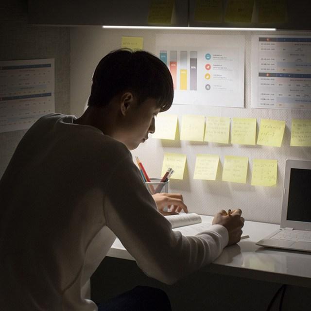 터치탁 4가지 밝기조절 책상조명 LED 공부등 독서등 무드등, 05.터치탁포스텝52(화이트)