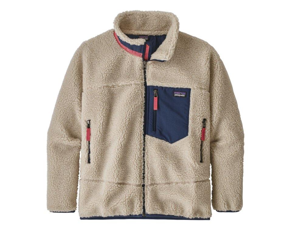 파타고니아 키즈 레트로X 플리스 자켓 스톤블루 Retro-X Jacket