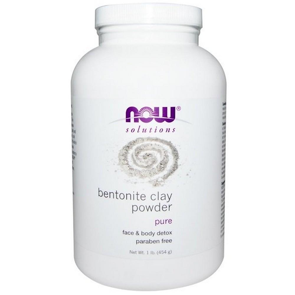 나우푸드 솔루션즈 벤토나이트 클레이 파우더 Bentonite Clay Powder 1lb(454g), 1개, 1개