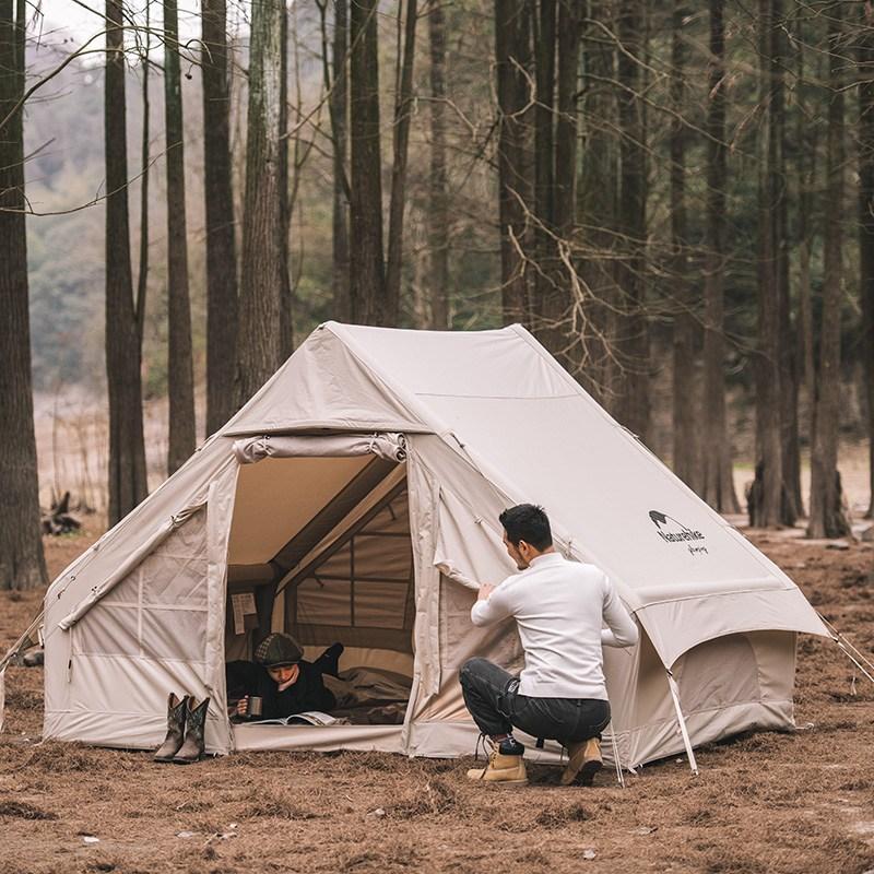 네이처하이크 에어 폴 텐트 6.3 12 NH20ZP009 캠핑 야외활동