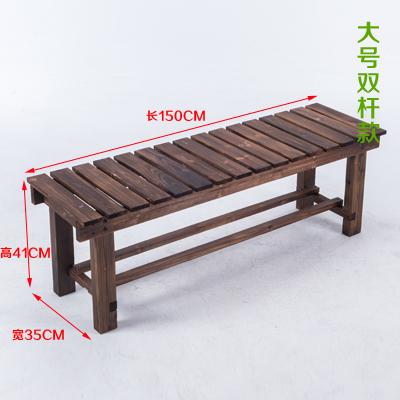 단단한 나무 공원 의자 벤치 정원 발코니, 길이 150cm 평행봉