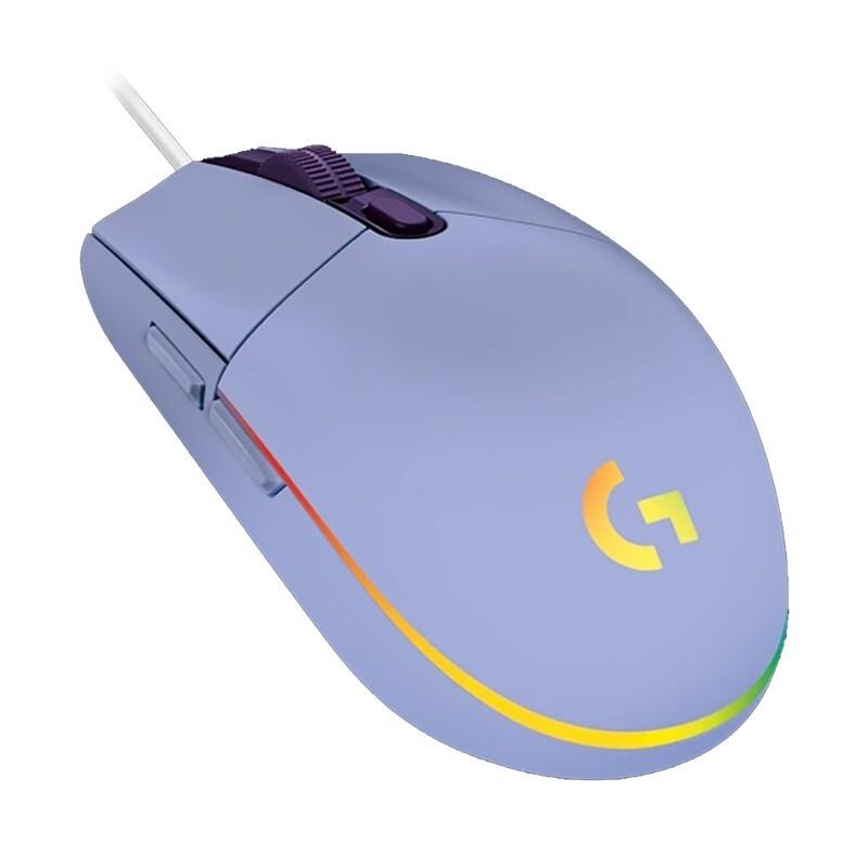 로지텍 유선마우스 G102 2ND 최신 버전, Purple